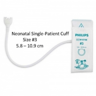 Neonatal NIBP Cuff No.3 Disposable Cuff untuk bayi 5.8 until 10.9cm