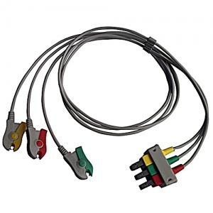 Shielded 3 Lead Set IEC Grabber Old Series